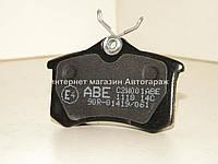 Тормозные колодки задние на Рено Меган III (>2008) — ABE (Польша) C2W001ABE