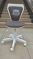 Детское кресло MINISTYLE WHITE (Министиль белый) SPR-04/ SPR-05 кот