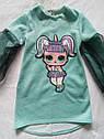 Детское платье на девочку с куколкой LOL Размер 116  Тренд сезона, фото 4