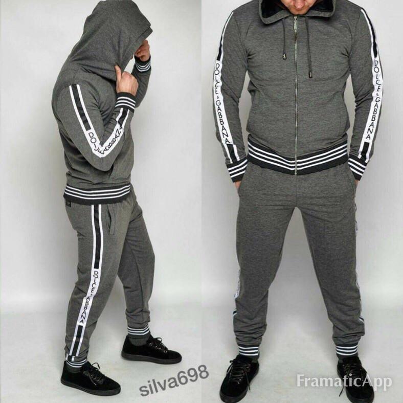 8a154b10 Мужской стильный серый спортивный костюм: продажа, цена в Одессе ...