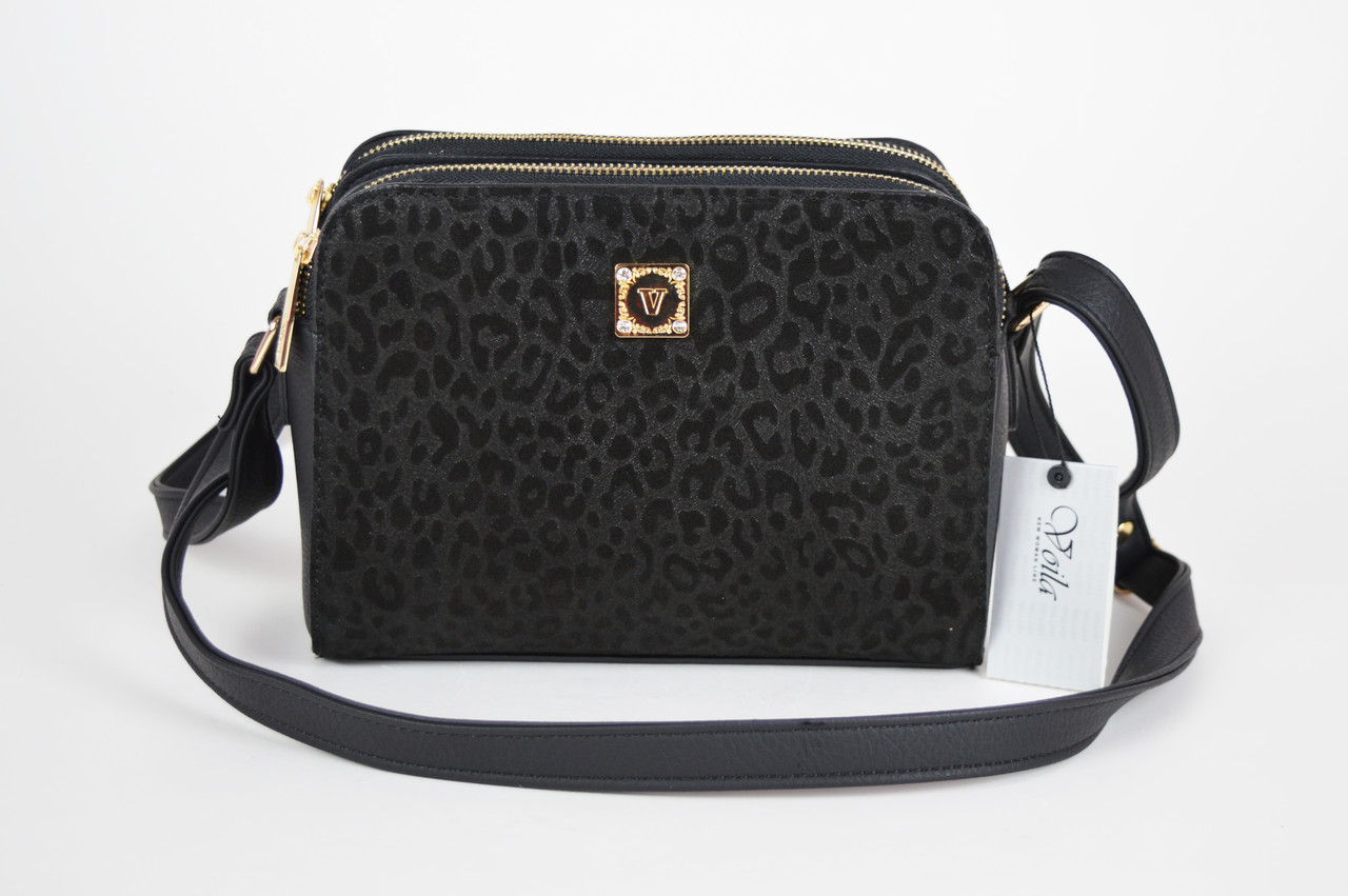 3a082e9f4f02 Черная женская квадратная сумка Voila 59520008: продажа, цена в ...