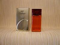 Cartier - Must De Cartier Pour Femme (1981) - Туалетная вода 100 мл (тестер) - Из первых, ранних выпусков, фото 1
