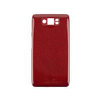 Задняя крышка для Motorola XT1080 Droid Ultra, красная, оригинал