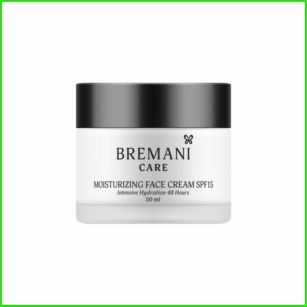 Зволожуючий крем для обличчя spf 15 НСП. Інтенсивне зволоження на 48 годин (Moisturizing Face Cream NSP)