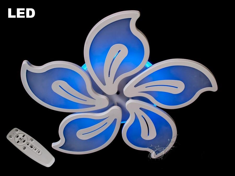 Люстра классическая, хай-тек,DJ146/8093/5BK LED dimmer