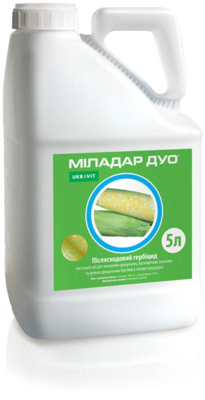 Гербицид Миладар Дуо К.С. Укравит - 5 л