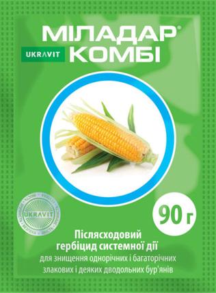 Гербицид Миладар Комби ВГ Укравит - 90 г, фото 2