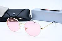 Солнцезащитные очки круглые Rb3594 с6 розовые