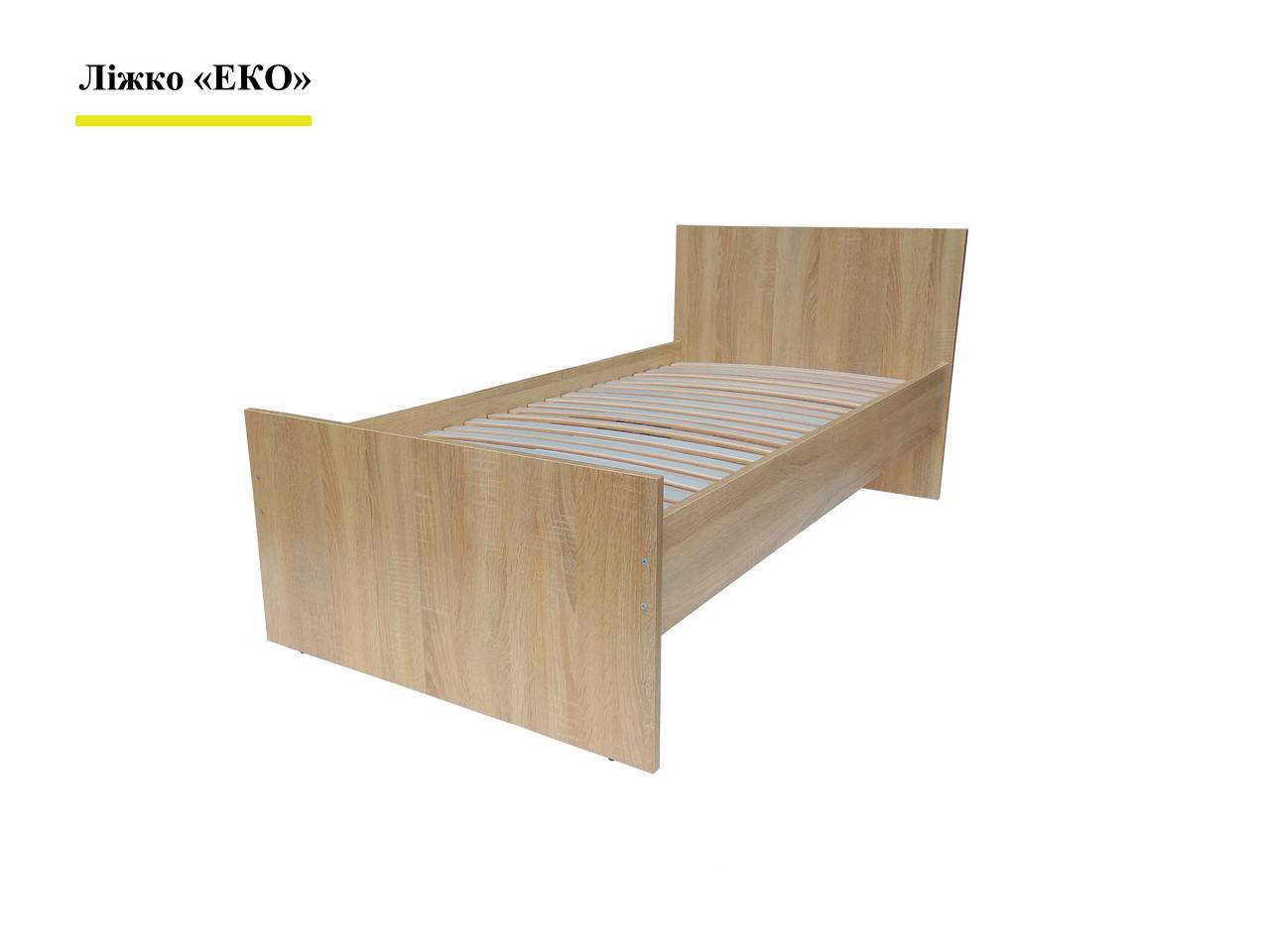 Кровать Эко с ламелями