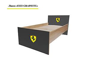 Кровать Эко с ламелями, фото 3