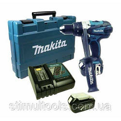 Аккумуляторный шуруповерт Makita DDF458RFJ