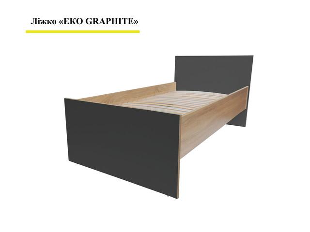 Кровать Эко Графит
