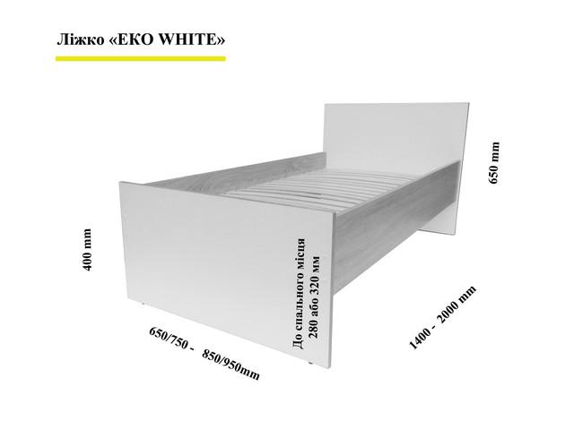 Размеры кровати Эко