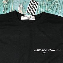 Футболка OFF WHITE Impressionism • Топ бренд • Топ качество • Ориг бирки • Все размеры, фото 3