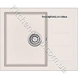 Гранітна мийка AquaSanita Tesa SQT-102 (620х500 мм.), фото 4