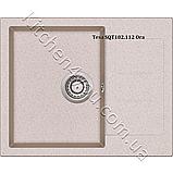 Гранітна мийка AquaSanita Tesa SQT-102 (620х500 мм.), фото 6