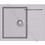 Гранітна мийка AquaSanita Tesa SQT-102 (620х500 мм.), фото 7