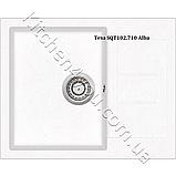 Гранітна мийка AquaSanita Tesa SQT-102 (620х500 мм.), фото 3