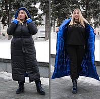 Зимнее двухстороннее пальто, с 42 по 82 размер, фото 1