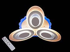 Люстра классическая, хай-тек,DJ126/MX2298/3BK, ЧЕРНАЯ, LED dimm, фото 2