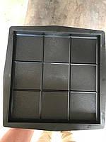 Формы для тротуарной плитки «Квадрат кубик» заказ от 50 штук