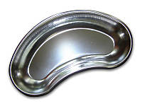 Лоток медицинский почкообразный 200 мм нерж. сталь