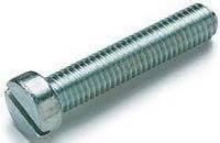 DIN 84 Винт (с цилиндрической головкой и прямым шлицем)