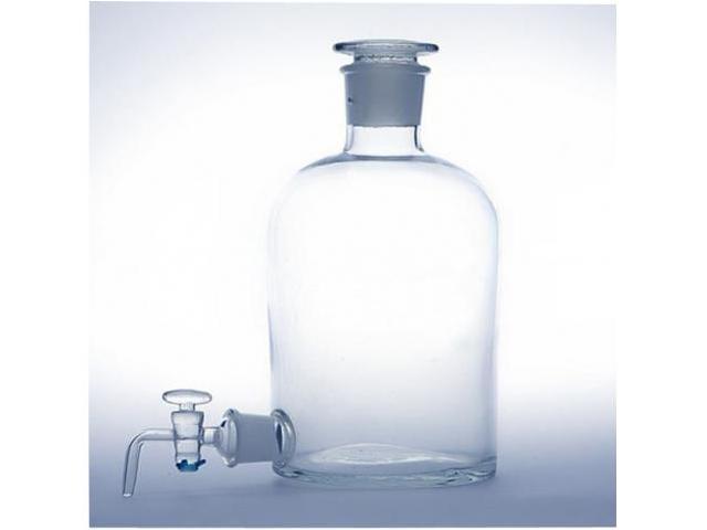 Бутыль Вульфа 5000 мл. с краном (для дистиллята)