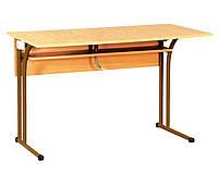 Стол лабораторный для кабинета химии без мойки (80330) Коричневый
