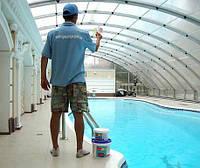 Сервисное обслуживание частных и общественных бассейнов в Киеве и по области