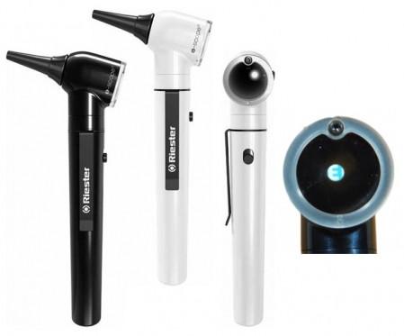 Отоскоп e-scope фиброоптика LED 3,7 В