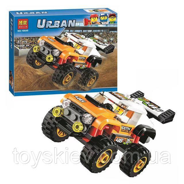 Конструктор Bela 10645 Urban Внедорожник каскадера (аналог Lego City 60146)