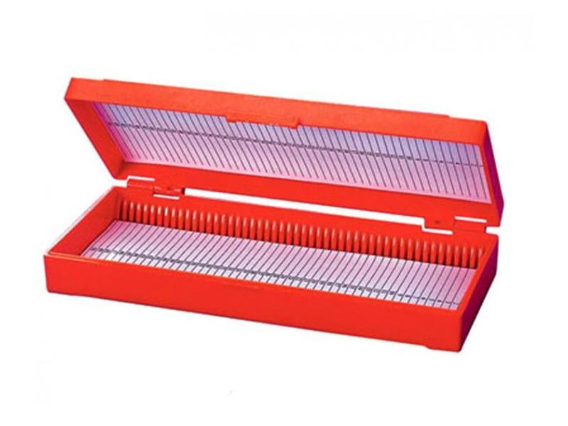 Контейнер пласт. для хранения и транспортировки пр.стекол ( 50 мест)