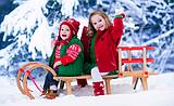 Санки для детей.Ледянки.Товары для зимнего отдыха.