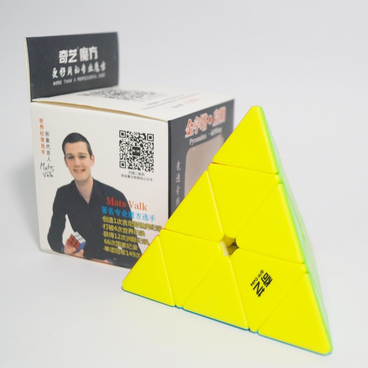Логічна гра піраміда QiYi MoFangGe Pyraminx QiMing Чии Мофанг Пираминкс ЧиМинг