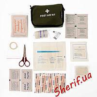 Набор первой помощи (аптечка) мал. MIL-TEC OLIVE 16026001