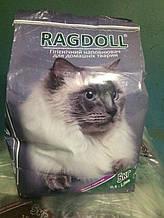 Ragdoll наполнитель для туалета котов 5 кг Крупный с ароматом лаванды