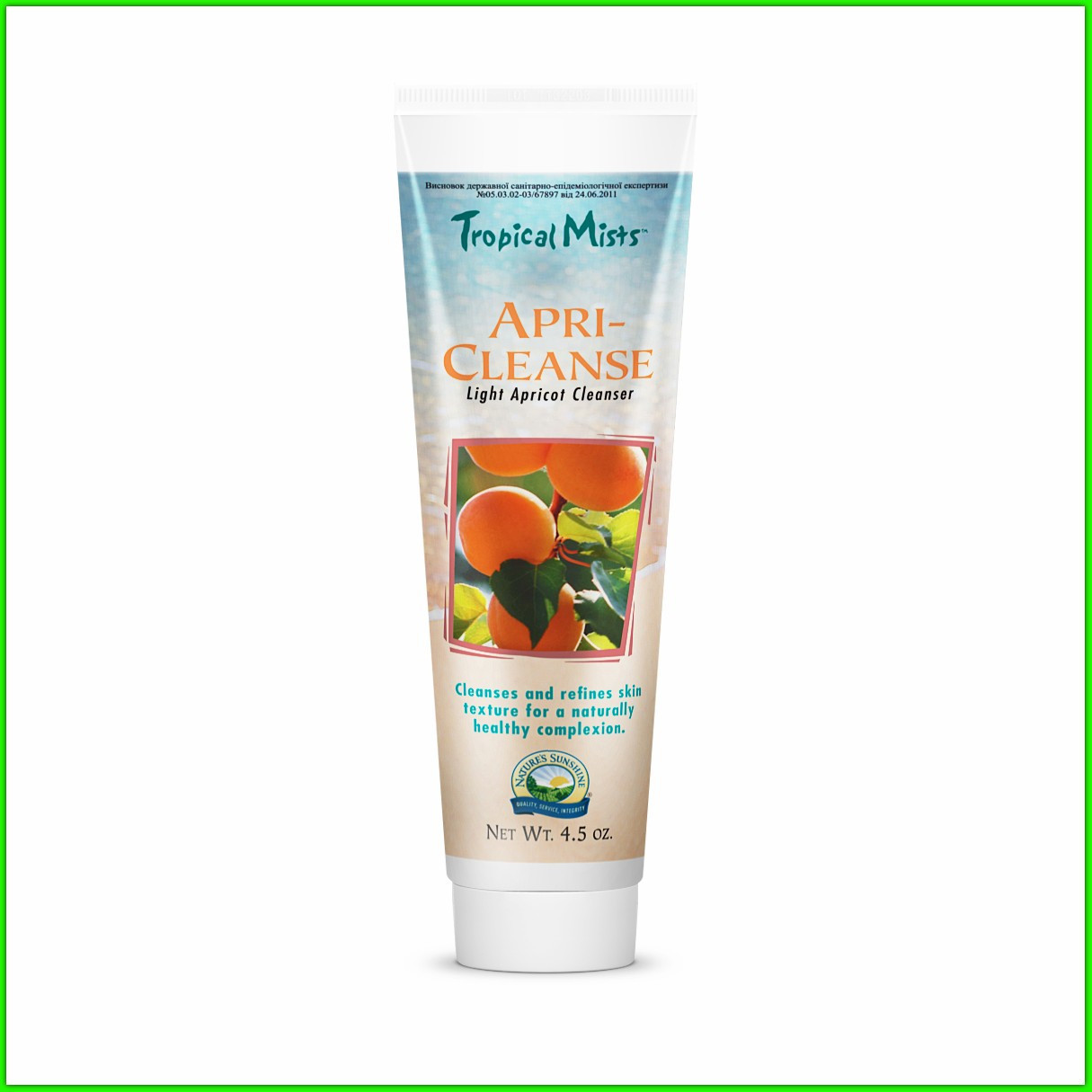 Скраб абрикосовый «Апри-клинс» для лица и тела НСП (Apri-Cleanse Light Apricot Cleanser NSP)