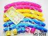 Обруч массажный Хула-Хуп 3 цвета MS 0088 (резиновые шарики)