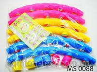 Обруч массажный Хула-Хуп 3 цвета MS 0088 (резиновые шарики), фото 1
