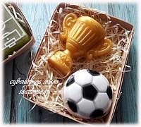 """Набор мыла """"Футбольный мяч и кубок"""", фото 1"""