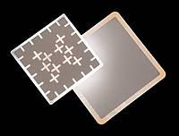 Настенно потолочный светильник 16W (LED бра) квадратный