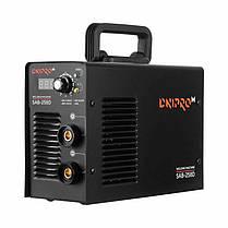 Сварочный аппарат инвертор сварка Dnipro-M SAB-258D + Хамелеон + Электроды (260 N DP DPB PW SP), фото 3