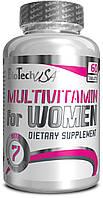 Витамины для женщин Multivitamin for Women BioTech 60 сaps