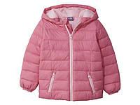 Куртка весенняя розовая р.86