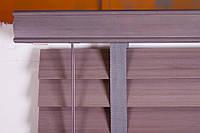 Жалюзи Пластик 50 мм Темная Вишня для окон и балконов производство под заказ приглашаем дилеров