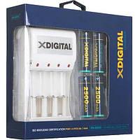 Зарядний пристрій X-DIGITAL KN-8003 + 4 АА HR6 Ni-MH 2500mAh