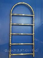 Полотенцесушитель в стиле ретро 500*950 Престиж Аура 05П АЗОЦМ Хром, фото 1