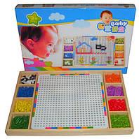 Детская игрушка! Деревянная мозаика