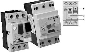 Автоматичний вимикач захисту двигуна УКРЕМ ВА-2005 М22